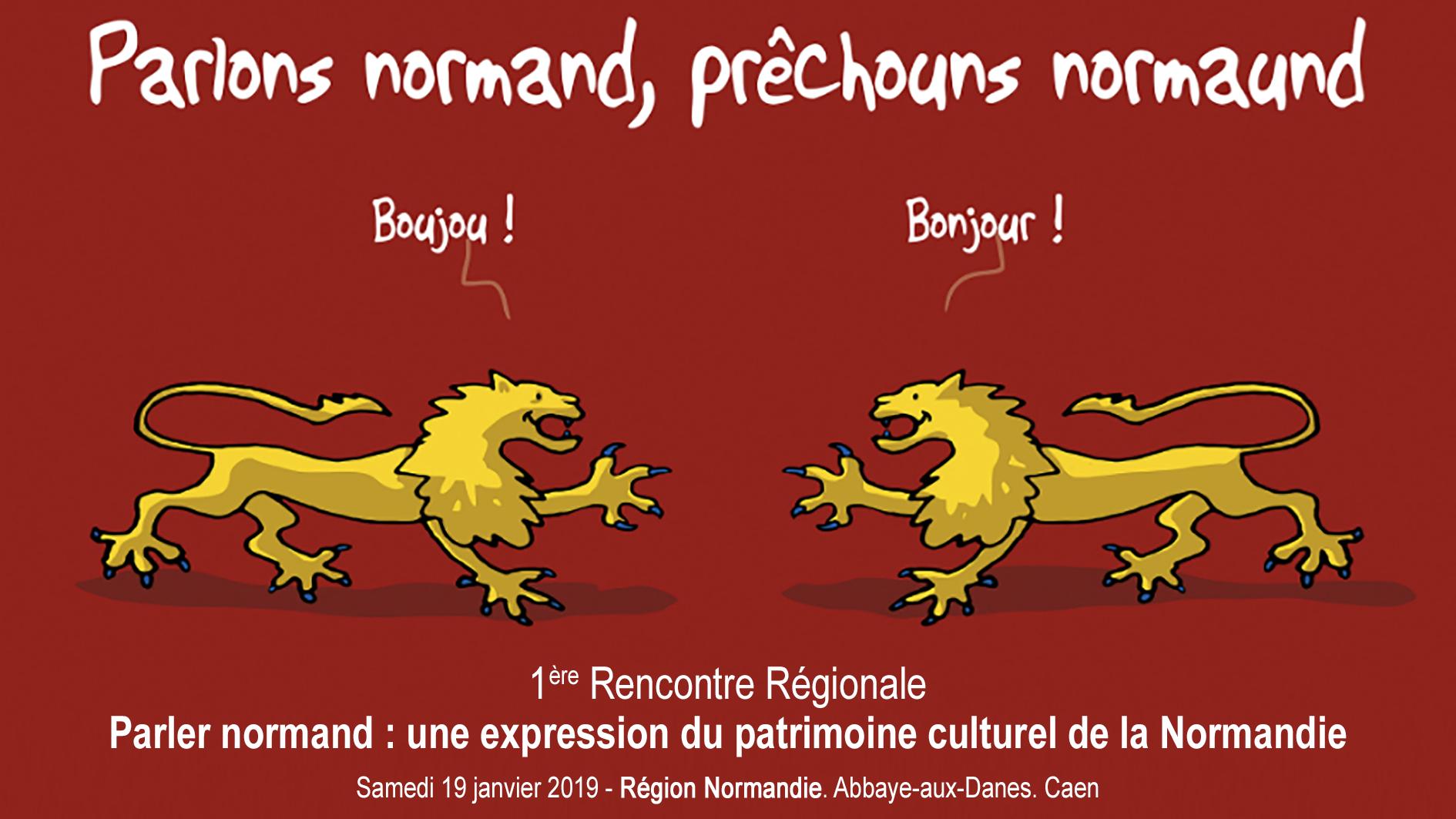 Parler normand : une expression du patrimoine culturel de la Normandie