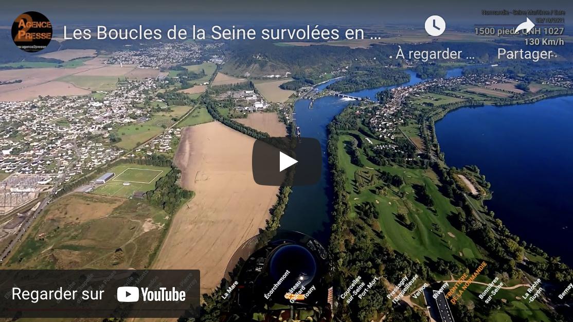 Les Boucles de la Seine, d'Elbeuf à La Roche Guyon