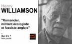 Henry Williamson : romancier, militant écologiste et fasciste anglais