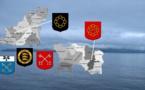 Les cinq minutes de l'héraldique normande — Les saints de Jersey et Guernesey
