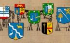 Les cinq minutes de l'héraldique normande — Des crosses et des crosserons