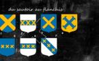 Les cinq minutes de l'héraldique normande — Du sautoir au flanchis