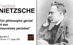 Friedrich Nietzsche. Un philosophe génial et ses mauvaises pensées.