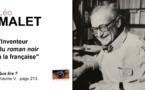 Léo Malet. L'inventeur du roman noir à la française.