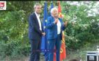 Catherine Morin-Desailly, sénatrice, et  David Margueritte Vice-Président de la Région Normandie